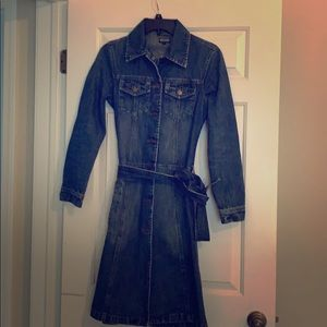 Dresses & Skirts - Denim trench coat